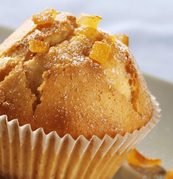 Bakery texture muffin orange crop S