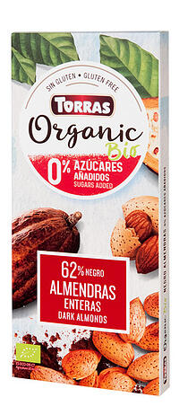 Torras organic chocolate without sugar ( from Piec Przemian Poland)