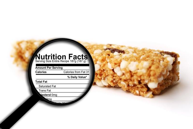 nutritional bar